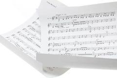 Rayures musicales photos libres de droits