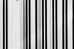 Rayures noires et blanches Photo libre de droits