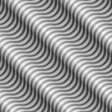 Rayures onduleuses diagonales sans couture Photographie stock