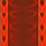 Rayures oranges sur un fond brun Image libre de droits