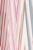 Rayures roses abstraites Image libre de droits
