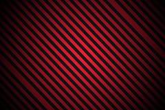 Rayures rouges et noires Photos libres de droits
