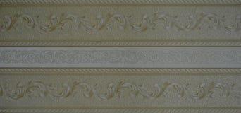Rayures texturisées grises de fond de papier peint rétros Photographie stock
