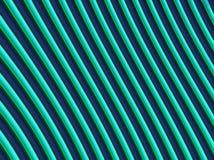 Rayures vertes de gradient Photos stock
