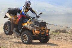 Raza de ATV Imagen de archivo libre de regalías