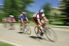 Raza de bicicleta foto de archivo
