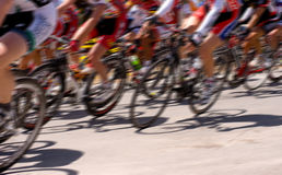 Raza de bicicleta Fotos de archivo libres de regalías