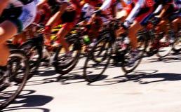 Raza de bicicleta Foto de archivo libre de regalías