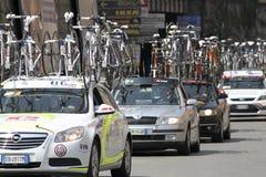 Raza de ciclo 2010 de Apennines Foto de archivo