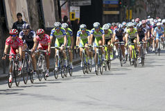 Raza de ciclo 2010 de Apennines Foto de archivo libre de regalías