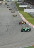 Raza de coche de Motorsport Foto de archivo