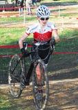 Raza de Cyclocross Imágenes de archivo libres de regalías