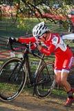 Raza de Cyclocross Foto de archivo