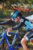 Raza de Cyclocross Fotografía de archivo libre de regalías
