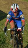 Raza de Cyclocross Fotos de archivo
