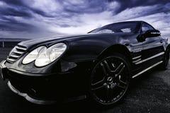 Raza de fricción, Benz de Mercedes Foto de archivo libre de regalías