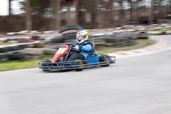 Raza de Karting Fotos de archivo libres de regalías
