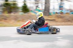 Raza de Karting Fotos de archivo