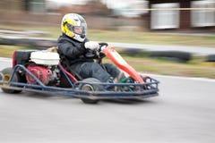 Raza de Karting Fotografía de archivo