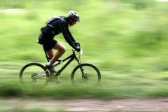 Raza de la bici Imagen de archivo libre de regalías