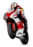 Raza de la motocicleta Fotografía de archivo libre de regalías