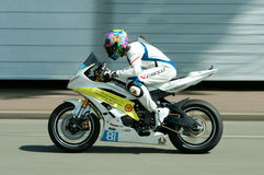 Raza de la motocicleta de IRRC en Ostende Bélgica Fotografía de archivo libre de regalías