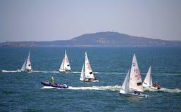 Raza de la navegación de Junior European Championship Imágenes de archivo libres de regalías