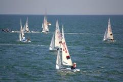 Raza de la navegación de Junior European Championship Fotos de archivo