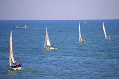 Raza de la navegación de Junior European Championship Foto de archivo