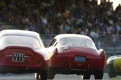 Raza de la obra clásica de Le Mans Fotos de archivo