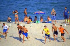 Raza de la playa Imagen de archivo libre de regalías