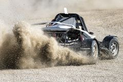 Raza de la reunión de Autocross Fotografía de archivo