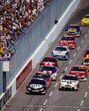 Raza de NASCAR Fotografía de archivo libre de regalías