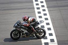 Raza de Superbike Foto de archivo libre de regalías