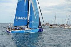 Raza de Team Vestas Wind Volvo Ocean Imagen de archivo libre de regalías