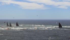 Raza de yate del mar abierta Fotos de archivo