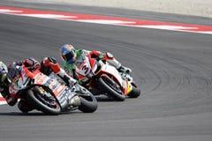 """Raza 1 del †del campeonato del mundo del Superbike de la FIM """" Foto de archivo"""