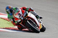 """Raza 1 del †del campeonato del mundo del Superbike de la FIM """" Fotos de archivo libres de regalías"""