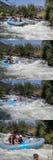 Raza del agua de Whte Fotos de archivo libres de regalías