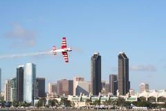Raza del aire en San Diego Imagenes de archivo