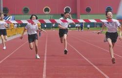 Raza del atletismo Fotos de archivo