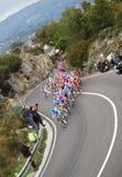 Raza del ciclo de Milano-Sanremo Imagenes de archivo