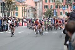 Raza del ciclo: Milano Sarnremo 2011 Imagen de archivo libre de regalías