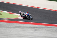 "Raza 1 del †del campeonato del mundo del Superbike de la FIM "" Imagen de archivo"