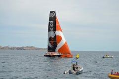 Raza 2014 - del océano de Volvo Team Alvimedica 2015 Imágenes de archivo libres de regalías