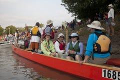 Raza del río de Missouri 340 foto de archivo libre de regalías