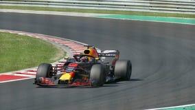 Raza en campeonato del Fórmula 1 almacen de video