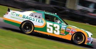 Raza a escala nacional de la serie de NASCAR fotografía de archivo