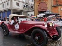 raza histórica 1000 del miglia Foto de archivo libre de regalías