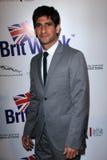 Raza Jaffrey lors du lancement officiel de BritWeek, emplacement privé, Los Angeles, CA 04-24-12 Photographie stock libre de droits